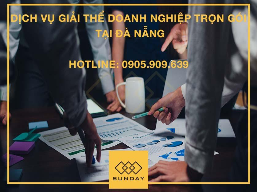 Dịch vụ giải thể doanh nghiệp trọn gói tại Đà Nẵng